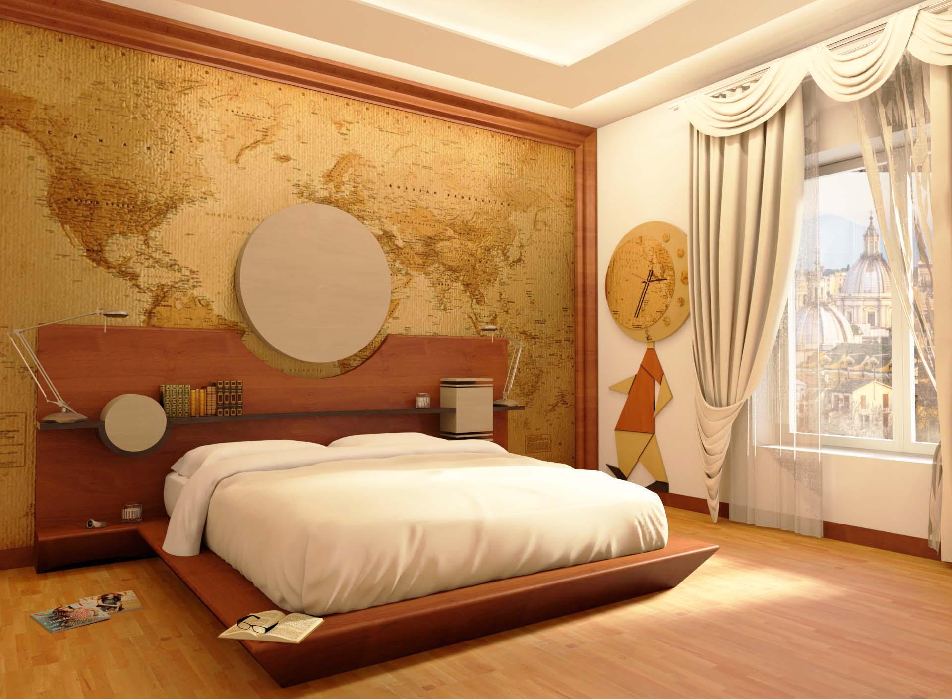 Camera da Letto progettata con il metodo Feng-Shui