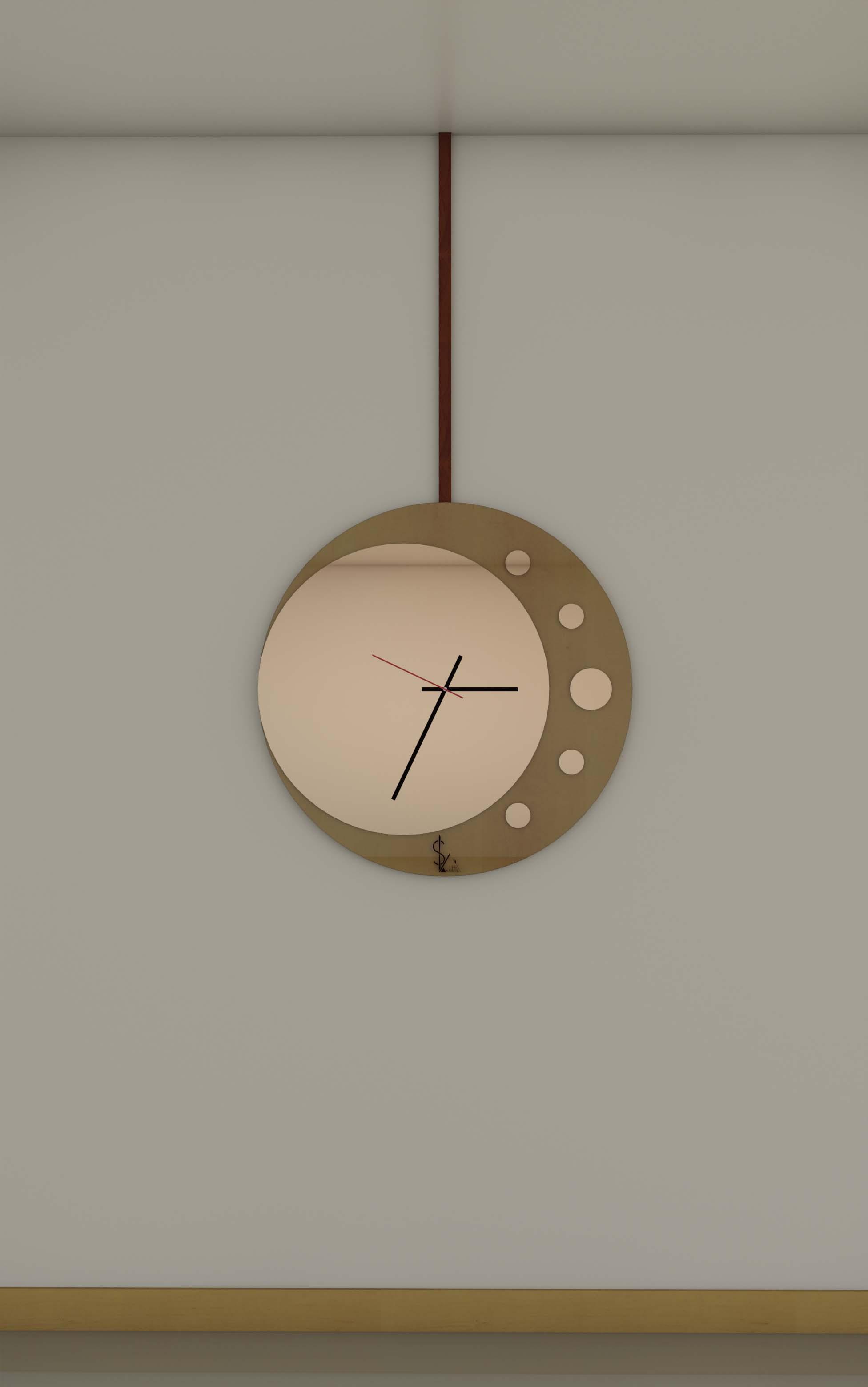 Orologio pendolo by Simonetto Vellucci