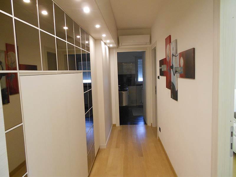 Corridoio Living abitazione dopo i lavori Creazioni SV