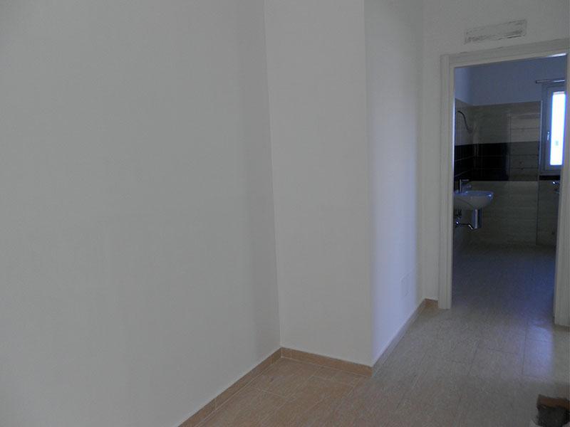 Bagno e corridoi prima dei lavori Creazioni SV
