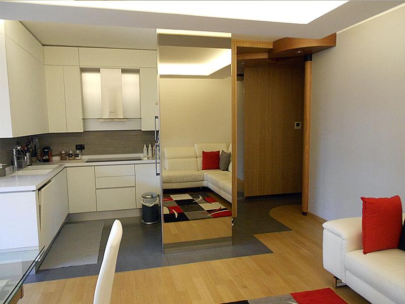 Ingresso abitazione dopo i lavori